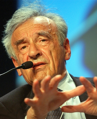 photo credit: Elie Wiesel - World Economic Forum Annual Meeting Davos 2003 via photopin (license)